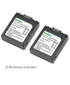 Kastar S002 Battery (2 Pack) for Panasonic CGA-S002 DMW-BM7 and Panasonic Lumix DMC-FZ1 DMC-FZ2 DMC-FZ3 DMC-FZ4 DMC-FZ5 DMC-FZ10 DMC-FZ15 DMC-FZ20 Cameras