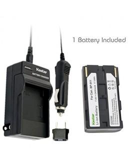 Kastar BP911 Battery (1-Pack) + Charger for Canon BP-911, BP-911K, BP-914, BP-915 and Canon ES6500V, ES7000es, ES7000V, ES8000V, ES8100V, ES8200V, ES8400V, ES8600 Camera