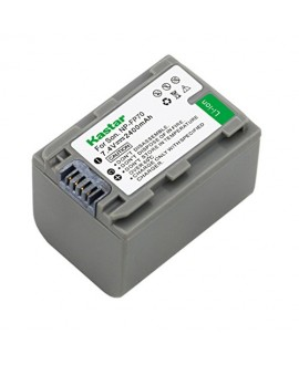 Kastar Battery (1-Pack) for Sony NP-FP70, NP-FP71 and Sony DCR-30, DVD92, DVD103, DVD105, DVD202, DVD203, DVD205, DVD304, DVD305, DVD403, DVD404, DVD405, DVD505, DVD602, DVD605, DVD653, DVD703, DVD705, DVD755, DVD803, DVD805, DVD905, HC16, HC17, HC18, HC1