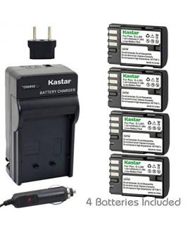 Kastar D-Li90 Battery (4-Pack) and Charger Kit work with Pentax K-01 K-3 K-5 K-5II K-5IIs K-7 645D 645Z Cameras