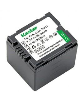 Kastar CGA-DU21 Battery (1-Pack) replace Panasonic CGA-DU06, CGA-DU07, CGA-DU14, CGA-DU21, VW-VBD070 VBD140 VBD210 work with Panasonic NV-GS330, GS400, GS408, GS500, GS508, MX500, PV-GS90, GS120, GS150, GS180, GS320, GS400, GS500, SDR-H48, H68, H200, H250