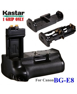 Kastar Pro Multi-Power Vertical Battery Grip (Replacement for BG-E8) for Canon EOS 550D 600D 650D 700D and Rebel T2i T3i T4i T5i SLR Cameras