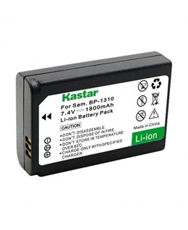 Kastar Battery (1-Pack) for Samsung BP1310, ED-BP1310 work for Samsung NX5, NX10, NX11, NX20, NX100 Cameras