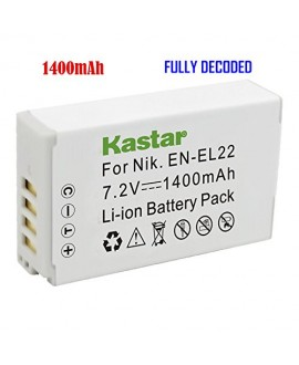 Kastar Battery (1-Pack) for Nikon EN-EL22, MH-29 work with Nikon 1 J4, Nikon 1 S2 Cameras