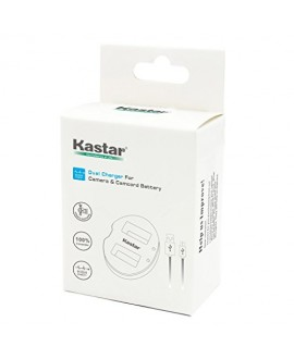Kastar Dual USB Charger for Canon NB-6L NB6L and PowerShot SX710 HS SX530 HS SX520 HS SX510 HS SX500 IS SX700SX280 SX260 SX170 SD1300 SD1200 SD980 SD770 SD1300D30 D20 D10 IXUS 85 IXUS 95 IXUS 200