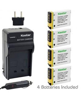 Kastar 4X Battery + Charger for Kodak KLIC-7003 K7003, GE GB-40 & Kodak EasyShare M380 M381 EasyShare M420 EasyShare V803 EasyShare V1003 EasyShare Z950, GE E1030 E1040 E1050TW E1240 E1250TW E850 H855