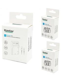 Kastar Battery (X2) & Slim USB Charger for Olympus LI-10B, LI-12B and Olympus Stylus 300, 400, 500, 600, 800, C-50, 60, 70, 470, 760, 770, 5000, Camedia Series, Sanyo Xacti Series Camera