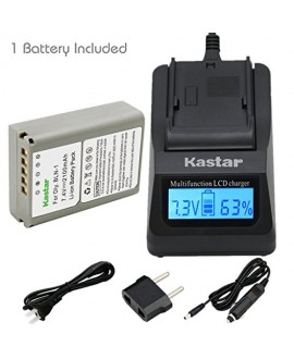 Kastar Ultra Fast Charger(3X faster) Kit and Battery (1-Pack) for Olympus BLN-1, BCN-1, BLN1 and Olympus OM-D E-M1, OM-D E-M5, PEN E-P5 Digital Cameras