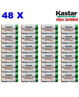 Kastar AA (48-Pack) Ni-MH 2700mAh Super High-Capacity Rechargeable Batteries Pre-charged