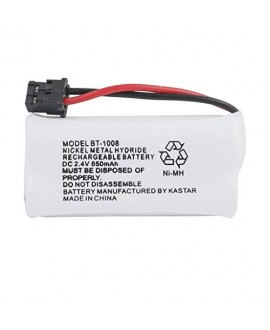 Kastar 1-PACK BBTG0645001 model BT1008 Cordless Phone Battery for Uniden BT-1008 and Uniden DECT 2060 DECT 2080 DECT 2080-3 DWX207 WXI2077 43-269 BT-1008S CAS-D6325 BT1008 DCX200 23-956 DWX207