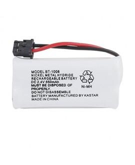 Kastar 1-PACK BBTG0645001 model BT1008 Cordless Phone Battery for Uniden BT-1008 and Uniden DECT 2060 DECT 2080 DECT 2080-3 DWX207 WXI2077 43-269 BT-1008S CAS-D6325 BT1008 DCX200 23-956 DWX207