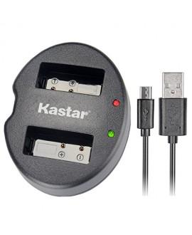 Kastar Dual USB Charger for Sony NP-BG1 NPBG1 NP-FG1 NPFG1 and Cyber-shot DSC-W120 W150 W220 DSC-H3 H7 DSC-H9 DSC-H10 DSC-H20 DSC-H50 DSC-H55 DSC-H70 DSC-HX5V DSC-HX7V DSC-HX9V DSC-HX10V DSC-HX30V