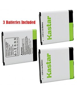 Kastar Galaxy S4 Battery (3-Pack without NFC) for Samsung Galaxy S4, S IV, I9505, M919 (T-Mobile), I545 (Verizon), I337 (AT&T), L720 (Sprint), EB-B600BUB, EB-B600BUBESTA --Supper Fast and from USA