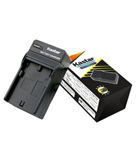 Kastar Travel Charger Kit for Fujifilm NP-70 NP70 FNP-70 & Fuji FinePix F20, F20 Zoom, F40fd, F45fd, F47fd and Leica D-LUX3, Leica C-LUX 1, Leica D-LUX2, Ricoh Caplio R3, Ricoh Caplio GR Cameras
