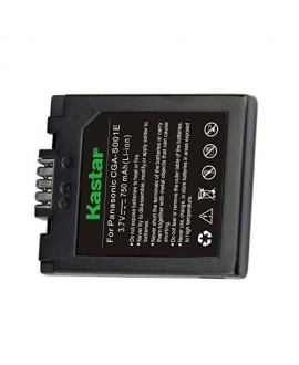 Kastar S001 Battery (1 Pack) for LEICA D-LUX, PANASONIC LUMIX DMC-F, LUMIX DMC-FX Series, Compatible Part Numbers: BP-DC2, CGA-S001, CGA-S001A/1B, CGA-S001E, CGA-S001E/1B, CGR-S001, DMW-BCA7