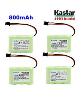 Kastar 4-P 2/3AA 3.6V 800mAh MSM Ni-MH Rechargeable Battery for Panasonic KX-TCM410 KX-A36 P-P301 Sony SPP-72/AQ25/AQ600 1-528-376-31 BP-T16/T185 Toshiba FF-675 FT-6203 TRB-5000 Uniden XC-315/330/600