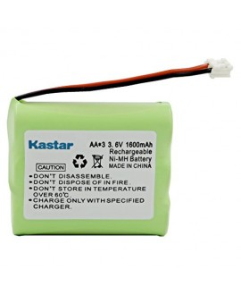 Kastar Cordless Phone Battery Replacement for G.E./RCA 5-2699 and Sanyo GES-PCF03 S-PCF03, Radio Shack 23-298 CLT9910 CLT9915 CLT9922 CLT9923 CLT9925 CLT9926 CLT9935 CLT9935B CLT9936, GP60AAS3BMJ