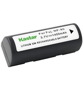 Kastar Battery (1-Pack) for Fujifilm NP-80, KLIC-3000 work with Fujifilm Finepix 1700z, 2700, 2900z, 4800 Zoom, 4900 Zoom, 6800 Zoom, 6900 Zoom, MX-1700, MX-1700z, MX-2700, MX-2900, MX-2900z, MX-4800, MX-4900, MX-6800, MX-6900, Kodak DC4800, Kyocera Micro
