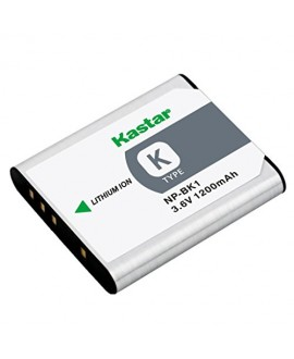 Kastar Battery (1-Pack) for Sony NP-BK1, BC-CSK work with Sony Bloggie MHS-CM5, MHS-PM5, Cyber-shot DSC-S750, DSC-S780, DSC-S950, DSC-S980, DSC-W180, DSC-W190, DSC-W370, Webbie MHS-PM1 Cameras