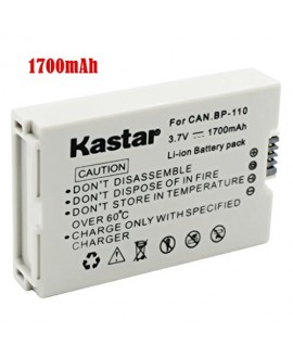 Kastar BP110 Battery (1-Pack) for Canon BP-110 and Canon VIXIA HF R20, HF R21, HF R200, HF R26, HF R28, HF R206, XF105 Cameras