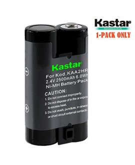 Kastar KAA2HR Battery (1-Pack) for Kodak KAA2HR KAARDC K3ARDC and Kodak EasyShare, Kodak C315 CD33 CW330 CX7430 DX3900 Z650 Digital Camera