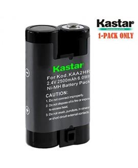Kastar Rechargeable Li-ion Battery KAA2HR for Kodak KAARDC K3ARDC and Kodak Z / ZD Cameras Z1275 Z650 Z700 Z740 Z885 Z980 ZD710 CW330 Fujifilm FinePix A205S A210 A310 Nikon coolpix 600 Cameras