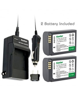Kastar Battery (2-Pack) and Charger Kit for Samsung ED-BP1900, BP1900 Battery and Samsung NX1 Smart Wi-Fi 4K Digital Camera