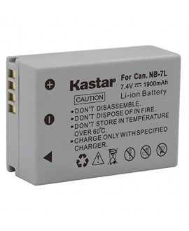 Kastar Battery (1-Pack) for Canon NB-7L, CB-2LZE work with Canon PowerShot G10, PowerShot G11, PowerShot G12, PowerShot SX30 IS Digital Cameras
