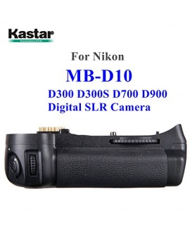 Kastar Pro Multi-Power Vertical Battery Grip (Replacement for MB-D10) for Nikon D300 D300S D700 D900 Digital SLR Camera