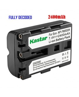 Kastar NP-FM500H Battery (1-Pack) for Sony DSLR-A100/A200/A300/A350/A450/A500/A550/A560/A580/A700/A850/A900 Alpha SLT A57 A58 A65 A65V A77 A77V A77 II A77M2 A99 A99V CLM-V55 Cameras