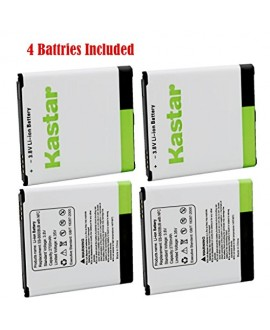 Kastar Galaxy S4 Battery (4-Pack with NFC) for amsung Galaxy S4, S IV, I9505, M919 (T-Mobile), I545 (Verizon), I337 (AT&T), L720 (Sprint), EB-B600BUB, EB-B600BUBESTA --Supper Fast and from USA