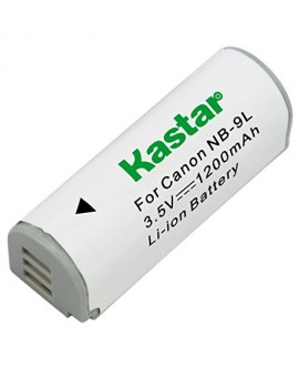 Kastar Battery (1-Pack) for Canon NB-9L and Canon PowerShot N, N2, SD4500, SD4500 IS, ELPH 510 HS, ELPH 520 HS, ELPH 530 HS Cameras