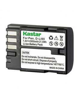 Kastar D-Li90 Battery (1-Pack) work with Pentax K-01 K-3 K-5 K-5II K-5IIs K-7 645D 645Z Cameras