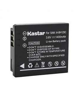 Kastar Battery 2 Pack for Samsung IA-BH125C, Ricoh DB-65, Sigma BP-41, Pentax D-Li106 Batteries Samsung HMX-R10, Ricoh GR GR-II GR-III GR-IV G700 GR Digital, Sigma DP3M DP2 Merrill, Pentax MX-1 X90