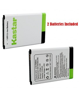 Kastar Note 3 Battery (2-Pack) for Samsung Galaxy NOTE 3, NOTE III, N9005 LTE, N9000, AT&T N900A, Verizon N900V, T-Mobile N900T, Sprint N900P, EB-K800BUWE --Supper Fast and from USA--3-Year Manufacturer Warranty