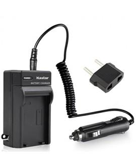 Kastar Travel Charger Kit for Samsung SB-LSM320, LSM80, LSM160 and SC-D351 VP-D351 VP-D351i VP-D352 VP-D352i VP-D353 VP-D353i VP-D354 VP-D354i VP-D647 VP-D651 VP-D653 VP-DC161 VP-DC161i DC163 DC163i