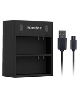Kastar Dual USB Charger for GoPro AHDBT-201, AHDBT-301, AHDBT-302, Gopro3 and GoPro Hero3+, Hero3, HD Motorsports HERO, Surf Hero, Hero Naked, Hero 960, Hero HD 1080p