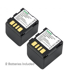 Kastar Battery 2-Pack for JVC BN-VF714 GR-D250 GR-D270 GR-D290 GR-D390 GR-D450 GR-D650 GR-DF450 GR-DF570 GR-DF590 GR-X5 GZ-D240 GZ-DF240 GZ-DF470 GZ-MG27 GZ-MG39 GZ-MG40 GZ-MG60 GZ-MG70 GZ-MG500