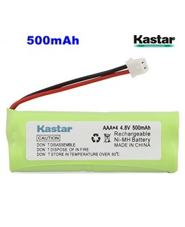 Kastar 1-PACK 4.8V 500mAh Ni-MH Rechargeable Battery Replacement for Dogtra BP12RT Dog Training Collar Receiver and 1900 NCP, 1902 NCP, 300M, YS500, SureStim H Plus, 1900 NCP, 302M and more Models