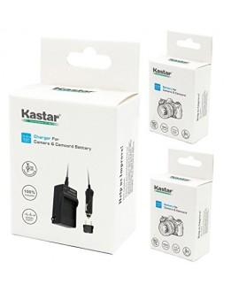 Kastar Battery (X2) & AC Travel Charger for Kodak KLIC-5000 K5000 & Kodak EasyShare DX6490 P850 P880 DX6490 EasyShare DX7630 DX7590 EasyShare Z760 Z7590 EasyShare DX7440 EasyShare Z730 DX7630 Z760