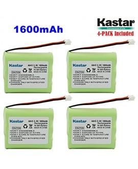 Kastar 4-PACK AAX3 3.6V 1600mAh EH Ni-MH Rechargeable Battery for Vtech, Motorola, Radio Shack, Sanyo Series Cordless Phone (Check your Cordless Phone Model down)
