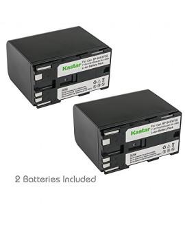 Kastar Battery 2x for Canon BP-970G BP-975 & Canon EOS C100, EOS C100 Mark II, EOS C300, EOS C300 PL, EOS C500, EOS C500 PL, GL2 XF100 XF105 XF200 XF205 XF300 XF305, XH A1S, XH G1S, XL H1A, XL H1S XL2