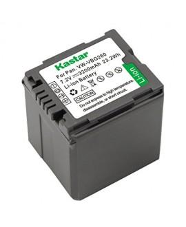 Kastar VW-VBG260 Battery (1-Pack) for Panasonic AG-AC7, AG-AF100, AG-HMC40, AG-HMC80, AG-HMC150, HDC-HS250, HDC-HS300, HDC-HS700, HDC-SD600, HDC-SD700, HDC-SDT750, HDC-TM300, HDC-TM700, SDR-H80 Camera