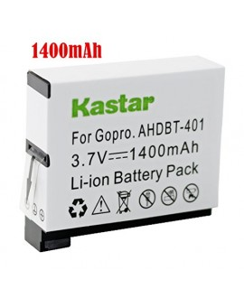 Kastar Battery (1-Pack) for GoPro HERO4 and GoPro AHDBT-401, AHBBP-401 Sport Cameras