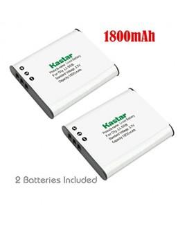 Kastar Battery (2-Pack) for Olympus LI-50B, LI-50C, Pentax D-LI92, DLI92, Panasonic VW-VBX090 and Olympus Stylus,Tough Series, Pentax Optio Series, Panasonic HX-WA03 WA2 WA20 WA3 WA301 Camera
