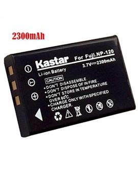 Kastar Battery (1-Pack) for Fujifilm NP-120, FNP120 work with Fujifilm FinePix 603, FinePix F10, FinePix F10 Zoom, FinePix F11, FinePix F11 Zoom, FinePix M603, FinePix M603 Zoom, KYOCERA Contax Tvs Digital, RICOH Caplio 300G, Caplio 400G wide, Caplio Pro