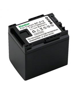 Kastar BP-819 Battery (1-Pack) for Canon VIXIA HF10, HF11, HF20, HF21, HF100, HF200, HF G10, HF M30, M31, M32, M40, M41, M300, M400, HF S10, S11, HF S20, S21, HF S30, HF S100, S200, HG20, HG21, XA10
