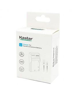 Kastar Slim USB Charger for Samsung SLB-1137 Fujifilm NP-60 Kodak KLIC-5000 Olympus Li-20B & Samsung U-CA3, U-CA4, U-CA401, U-CA5, U-CA501, U-CA505, V10, V700, V800, Olympus AZ-1, AZ-2 +more Camera