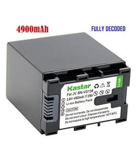 [Fully Decoded] Kastar BN-VG138 Battery (1-Pack) for JVC BN-VG138/VG138U/VG138US, BN-VG121/VG121U/VG121US, BN-VG114/VG114U/VG114US, BN-VG107 and JVC Everio GZ-E10,GZ-E100,GZ-E200,GZ-E300,GZ-E505,GZ-E565,GZ-EX210,GZ-EX215,GZ-EX245,GZ-EX250,GZ-EX265,GZ-EX27