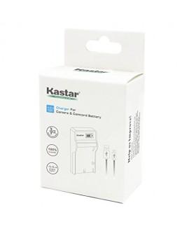 Kastar SLIM LCD Charger for Nikon EN-EL3a, ENEL3A, EN-EL3, ENEL3, MH-18, MH-18a and Nikon D50, D70, D70s, D100 Cameras